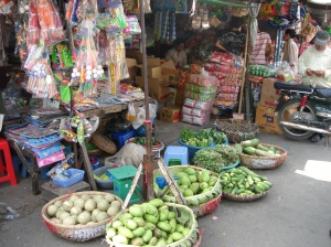 Cambodian Market Stall