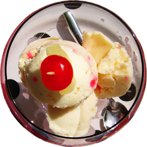 Pina Colada Ice-Cream